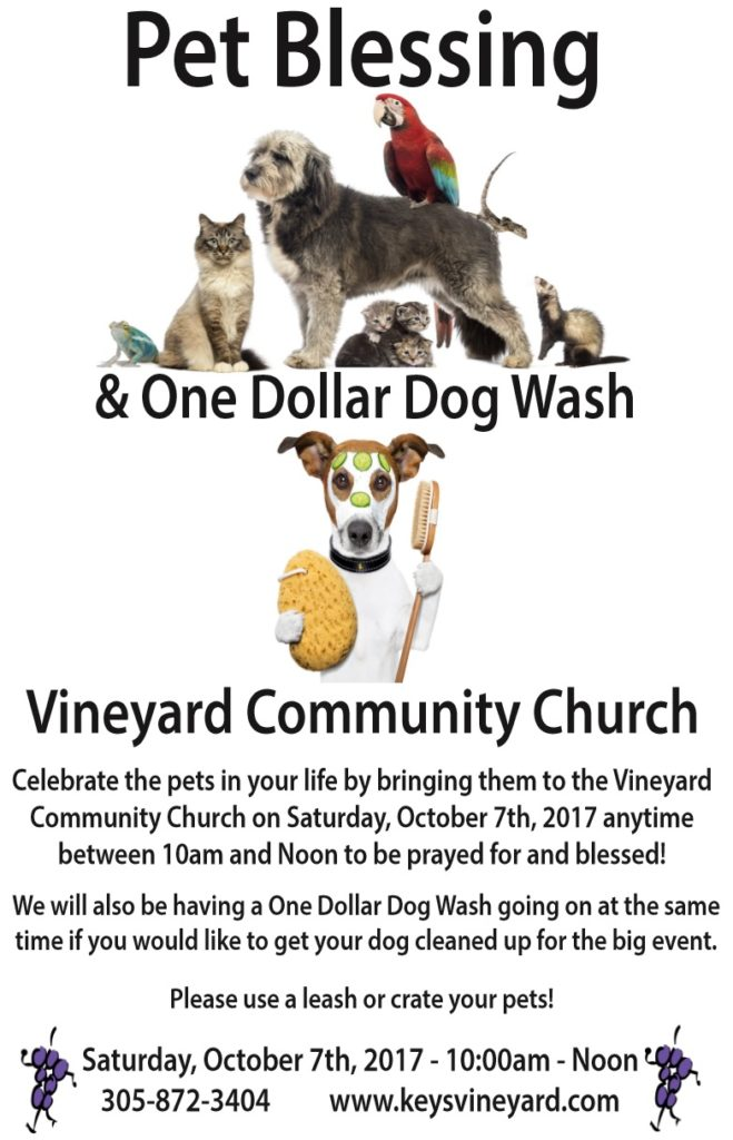 pet blessing for info page