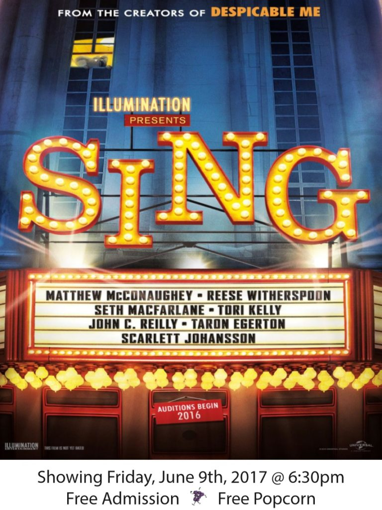 sing poster for website