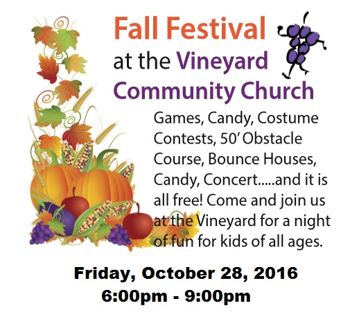 fall festival 2016 website