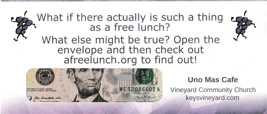 Free Lunch for Website